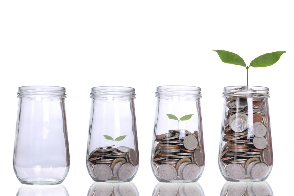 penge der vokser
